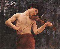 Orpheus, 1894, ferenczy