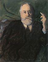 Portrait of Pál Szinyei Merse, 1910, ferenczy