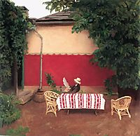 Red Wall, 1910, ferenczy