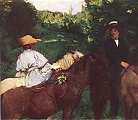 Riding Children, 1905, ferenczy