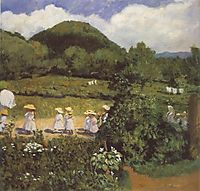Summertime (Picnic in May), 1906, ferenczy