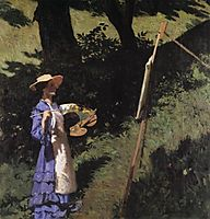 The Woman Painter, 1903, ferenczy