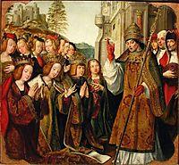 Bênção de Santa Auta em Lisboa, 1520, figueiredo