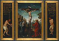 Tríptico da Paixão de Cristo, 1530, figueiredo
