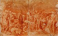 Allegoria macabra, 1520, fiorentino