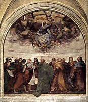 Assumption of the Virgin, 1517, fiorentino