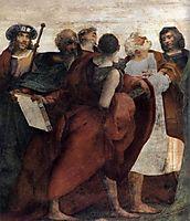 Assumption of the Virgin (detail), 1517, fiorentino