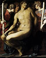 Dead Christ with Angels, 1526, fiorentino