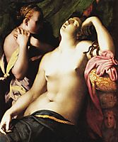 Death of Cleopatra, 1525, fiorentino