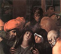Deposition from the Cross (detail), 1528, fiorentino