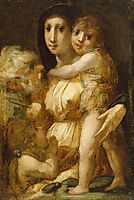 The Holy Family with the Infant Saint John the Baptist, 1521, fiorentino