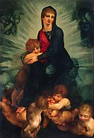 Madonna and Child with Putti, 1522, fiorentino