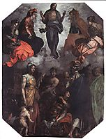 Risen Christ, 1530, fiorentino