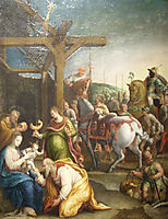 The Adoration of the Magi, 1560, fontana