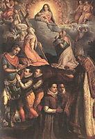 Consecration to the Virgin, fontana