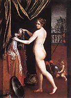 Minerva Dressing, 1613, fontana