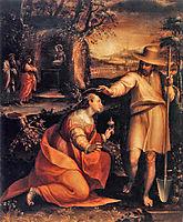 Noli me tangere, 1581, fontana