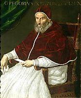 Pope Gregory XIII, fontana