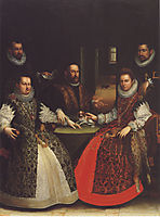 Portrait of the Coozzadini Family, 1584, fontana