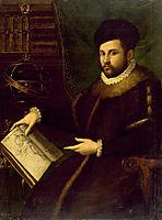 Portrait of Gerolamo Mercuriale, 1589, fontana