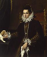 Portrait of Ginevra Aldrovandi Hercolani, 1595, fontana