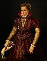 Portrait of a Noblewoman, 1580, fontana