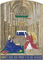 The Annunciation, c.1445, fouquet