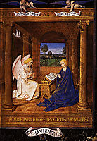 The Annunciation dove, 1465, fouquet