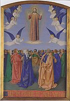 The Ascension of the Holy Spirit, 1455, fouquet