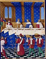 Banquet of Charles V the Wise, fouquet
