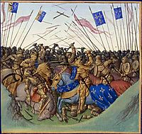 Battle of Fontenoy-en-Puisaye in 841, c.1460, fouquet