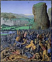 Battle of Gilboa Flavius ​​Josephus, 1475, fouquet
