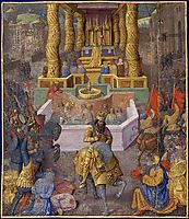 Capture of Jerusalem by Herod the Great, 1475, fouquet