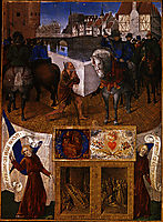 Charity of St. Martin, 1460, fouquet