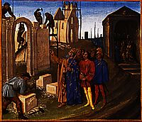 Charlemagne Builder, 1460, fouquet