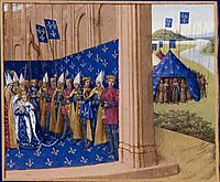 Coronation of Lothair, 1460, fouquet