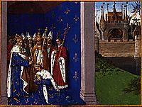 Coronation of Louis the Pious, 1460, fouquet