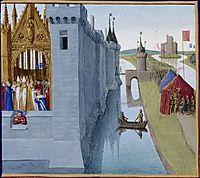 Coronation of Louis VI, fouquet