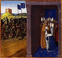 Coronation of Pepin the Short in Laon, 1460, fouquet