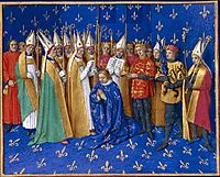 Coronation of Philippe Auguste, 1460, fouquet