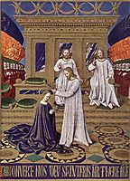 The Coronation of the Virgin, c.1445, fouquet