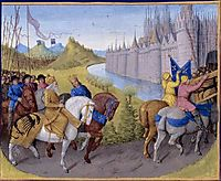 Crusaders Arrived in Constantinople. Battle Between the French and Turks in 1147 and 1148, fouquet