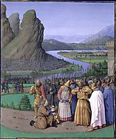 David Learning of the Death of Saul, c.1470, fouquet