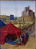 Death of Bertrand du-Guesclin, 1460, fouquet