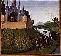 Death of William Longsword, 1460, fouquet