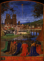 Descent of the Holy Ghost upon the Faithful, 1460, fouquet
