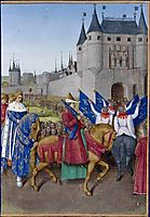 Entry of Charles V in Paris, 1460, fouquet