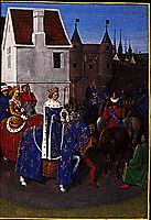 Entry of Jean Le Bon in Paris, 1460, fouquet