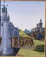 Guerre entre Girard de Cazaubon et le comte de Foix. Reddition de Roger Bernard III, fouquet