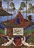John on Patmos, 1460, fouquet